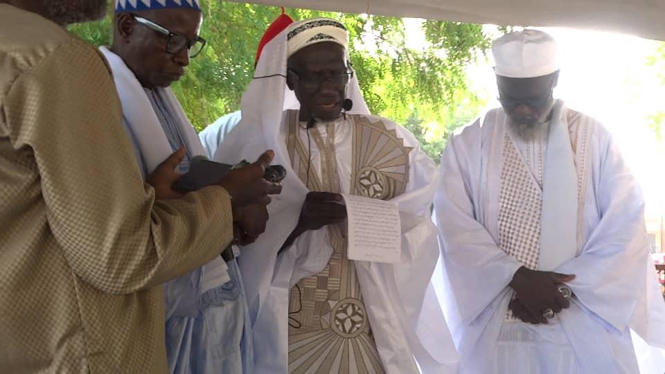 Korité 2021 : Revivez en image la fête de la korité à Bignona dirigée par l'imam Ratib Cheikh Nfansou Bodian