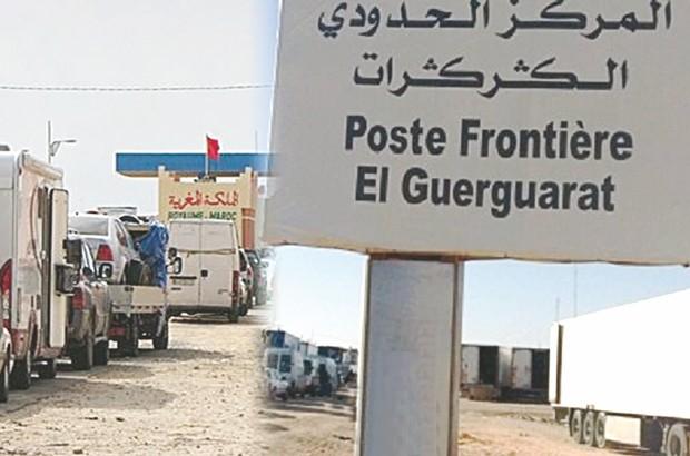 Maroc : Ouverture de la frontière d'El Guerguerate aux Sénégalais