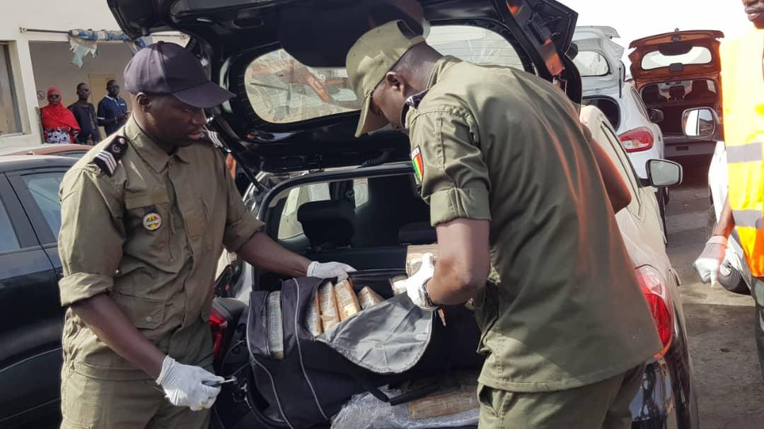 Joal : La gendarmerie saisit 72 kilos de chanvre indien