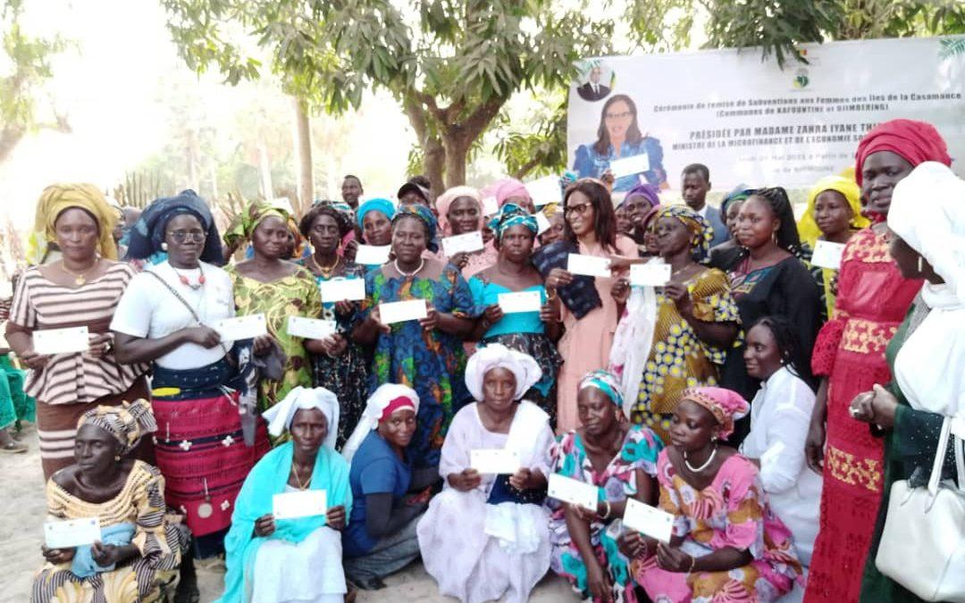Microfinance: La ministre Zahra Iyane Thiam en Casamance pour relancer les activités économiques des groupements de femmes