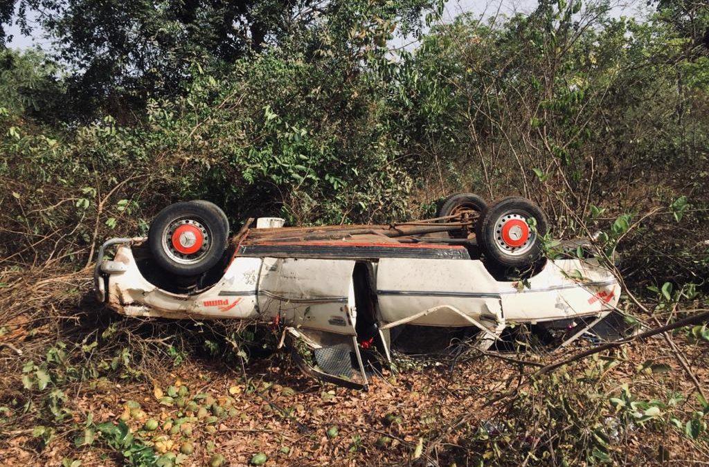 Accident de la circulation à Balingor, Le chauffeur décède sur place, 02 passagers grièvement blessés
