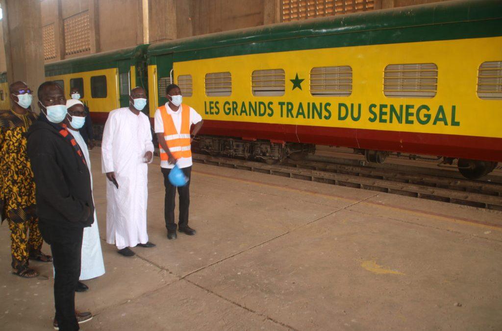 Relance du train ferroviaire: Les Grands Trains du Sénégal bientôt remis en exploitation !
