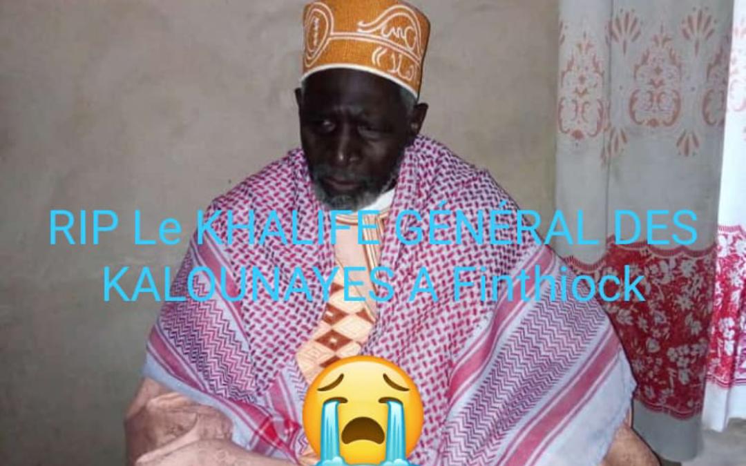Dernière minute : Le nouveau Khalife Général des Kalounayes n'est plus