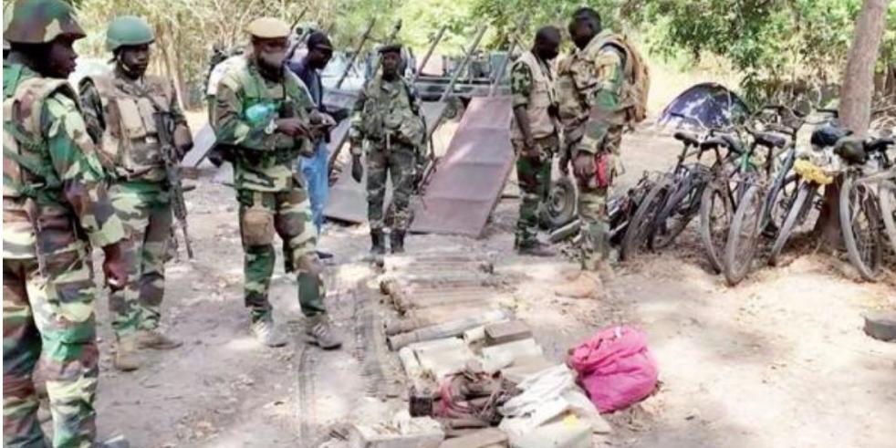 Casamance : 05 nouvelles bases rebelles conquises par l'armée à Niassya