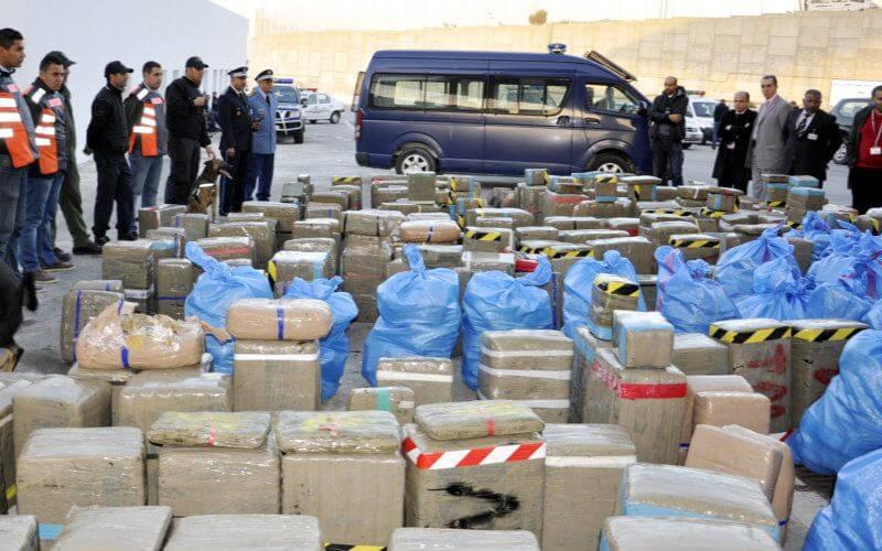 Trafic de drogue en Espagne: 3 personnes interpellées avec 15 tonnes de haschisch
