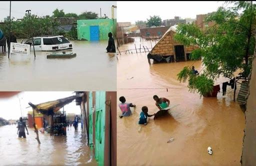 Fortes pluies à Tamba: 01 mort et 2 blessés graves dans l'effondrement d'un bâtiment