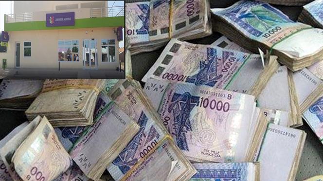 Louga: Un caissier détourne 5 millions FCFA à la banque agricole